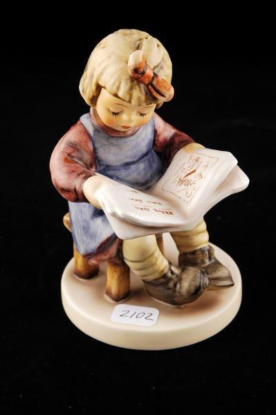 2102: Hummel Figurine What's New? 418 TMK 6
