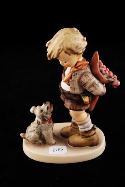2103: Hummel Figurine Not For You 317 TMK 6