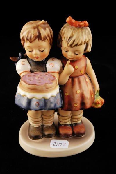 2107: Hummel Figurine Happy Birthday 176/I TMK 6