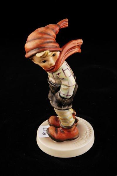 2108: Hummel Figurine March Winds 43 TMK 6