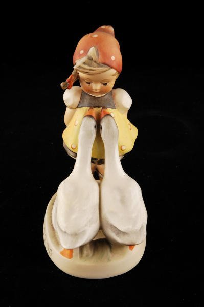 2110: Hummel Figurine Goose Girl 47/0 TMK 3