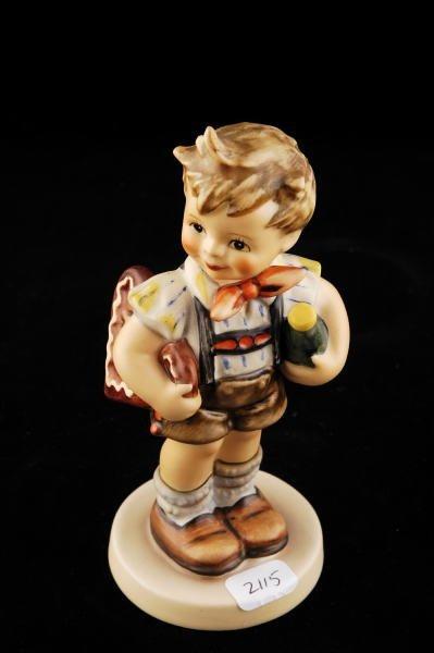 2115: Hummel Club Figurine Valentine Joy 399 TMK 6