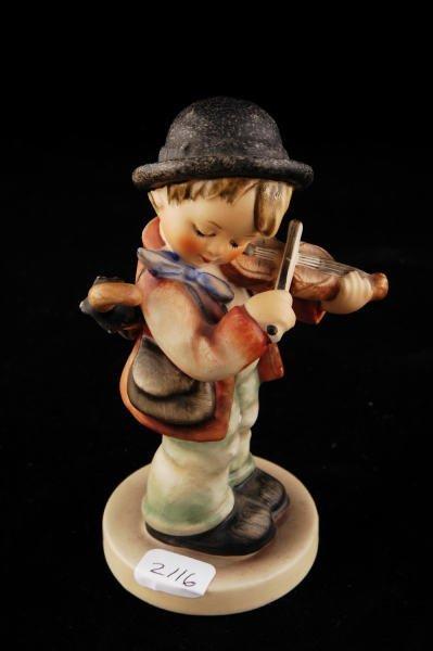 2116: Hummel Figurine Little Fiddler 4 TMK 3