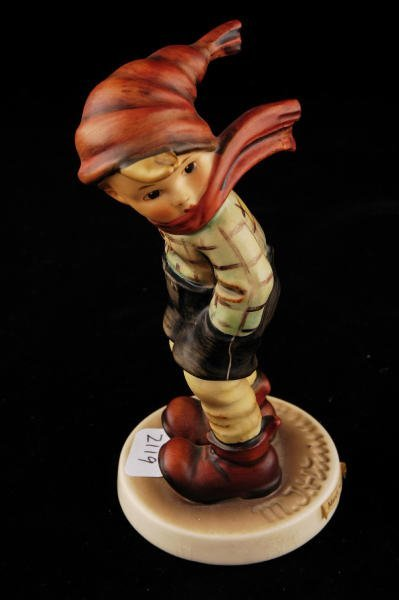 2119: Hummel Figurine March Winds 43 TMK 5
