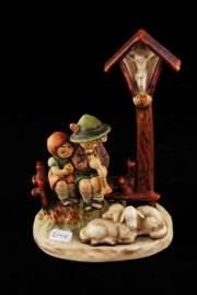 2144: Hummel Figurine Wayside Devotion 23/II TMK 5