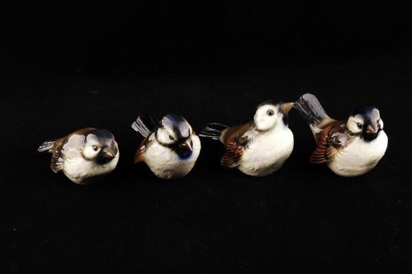 2357: 4 Goebel Bird Figurines CV72, CV73, CV74 & CV75