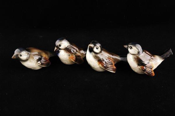 2357: 4 Goebel Bird Figurines CV72, CV73, CV74 & CV75 - 2