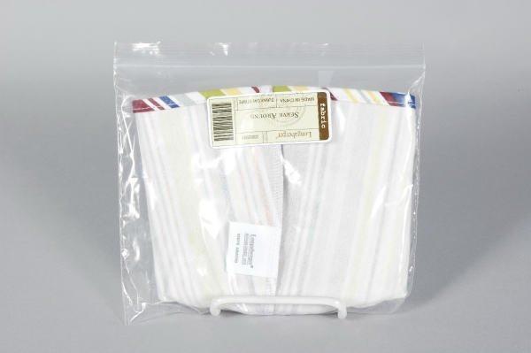 1005: Longaberger Sunny Day Stripe Serve Around Liner