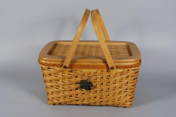 1668: Longaberger Founders Basket 2000 Dave Longaberger