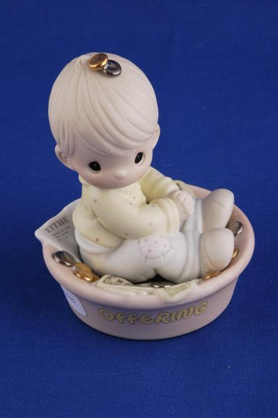 3010: Precious Moments Figurine Only One Life to Offer