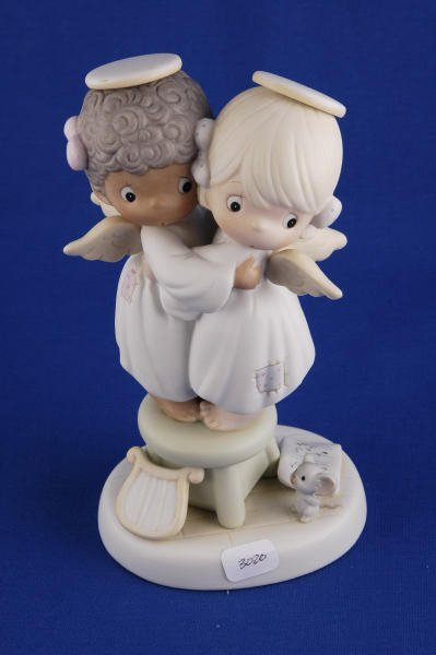 3020: Precious Moments Figurine Angels We Have Heard