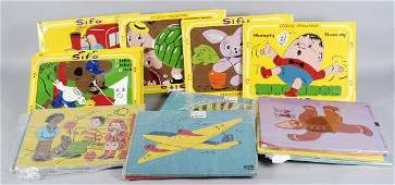 1316 16 Vintage Wooden Puzzles from Sifo  Playskool