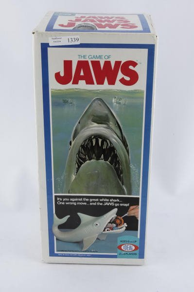 1339: 1975 Ideal Jaws Board Game MIB Unopened