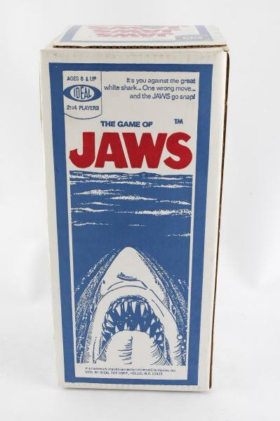 1339: 1975 Ideal Jaws Board Game MIB Unopened - 3