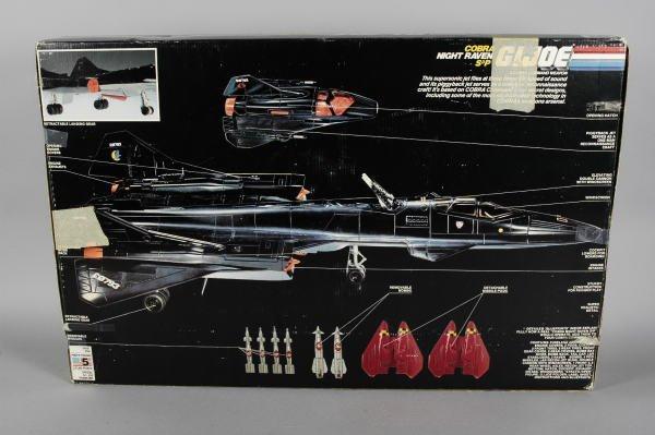 1502: GI Joe Hasbro Cobra Night Raven S3P & Recon Jet - 4