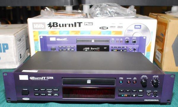 1624: HHB CDR-830 Burn It Plus Compact Disc Recorder
