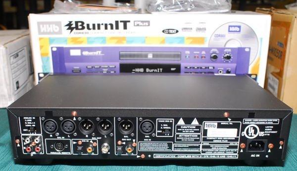 1624: HHB CDR-830 Burn It Plus Compact Disc Recorder - 2