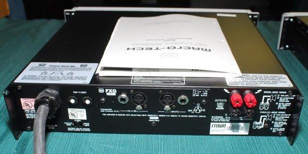 1640: Crown Macro-Tech 2402 Pro Power Amplifier - 2