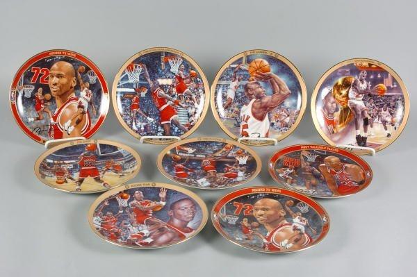 3: 9 Michael Jordan Bradford Exchange Ltd. Plates