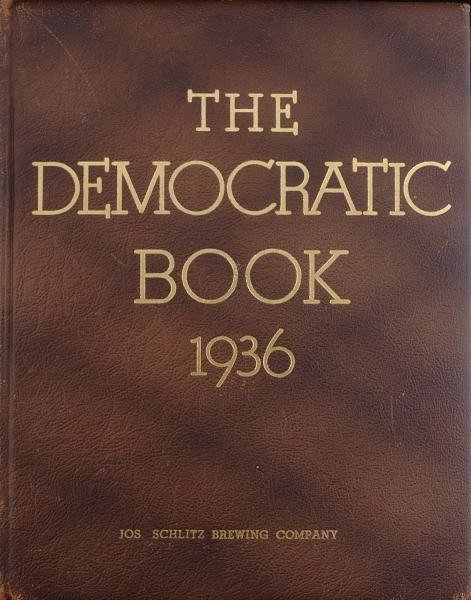 16: The Democratic Book 1936 with Roosevelt Signature