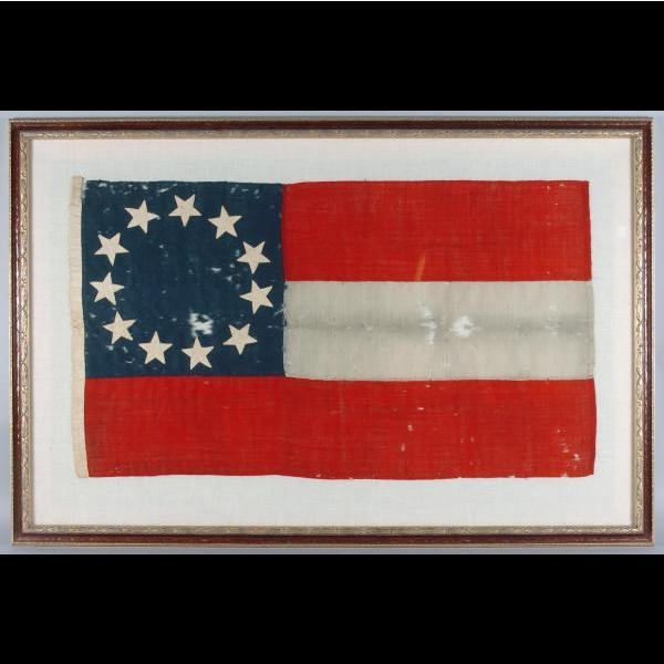 20: Confederate States of America 11 Star National Flag