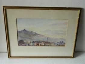 Edith Harvery -Mediterranean Landscape