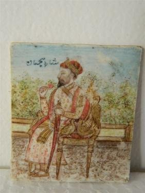 Miniature Painting of Indian Emporer