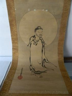 Chinese Figure Scroll