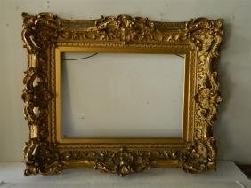 High Style 19th Century Gilded French Frame