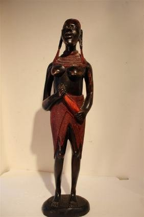 African Figures of Man and Woman
