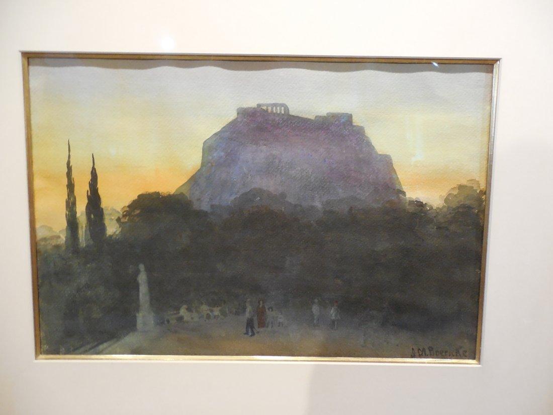 """Acopolis at Sunset"" by Johanna M. Boericke - 7"