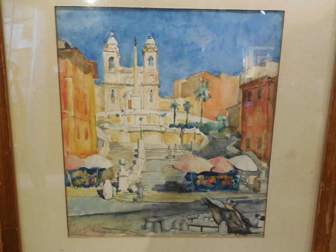 Mediterranean Watercolor - 2