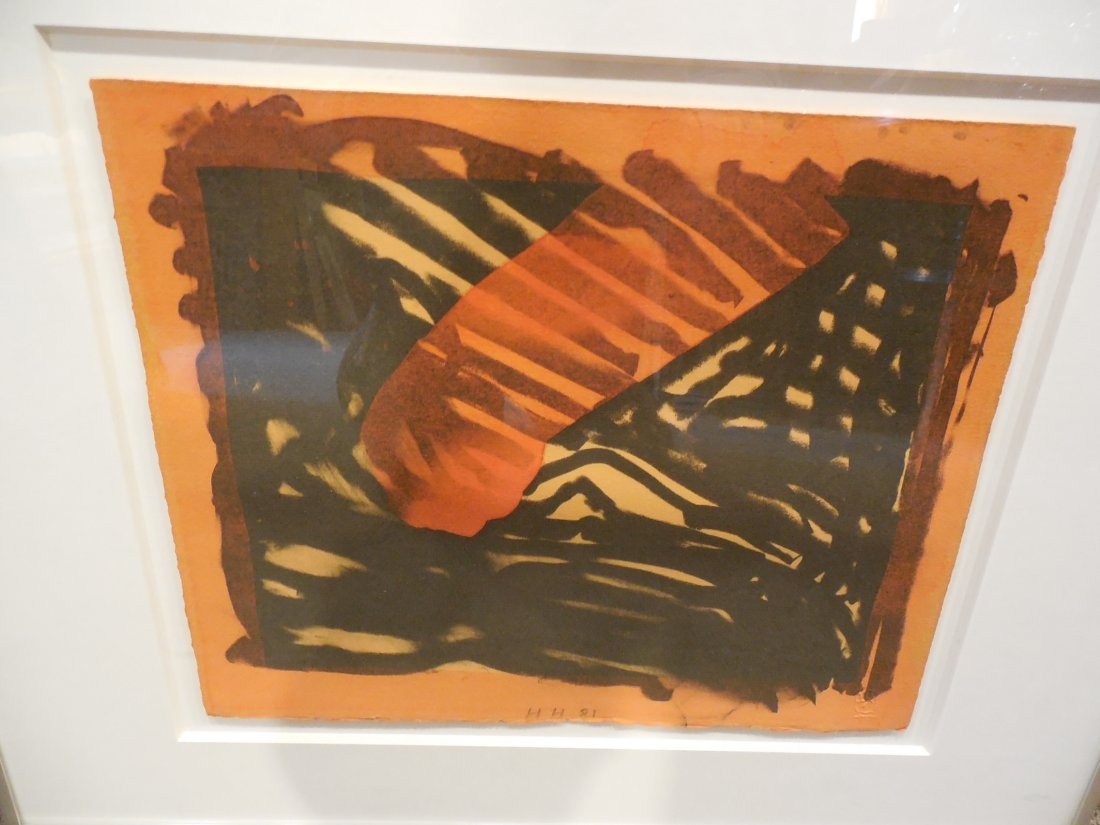 Red Eye Lithograph by Howard Hodgkin - 3