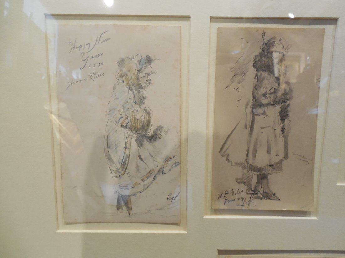 Assortment of Drawings by H.P. Giles - 2