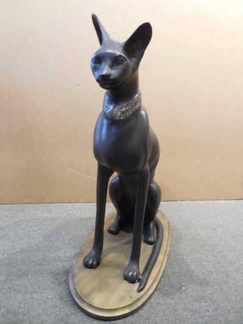 Egyptian Cat in Bronze