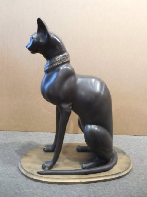 Egyptian Cat in Bronze - 2