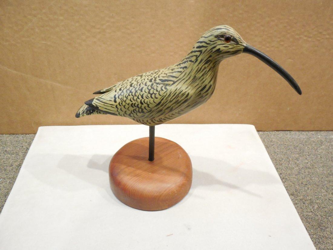 Carving of a Shore Bird