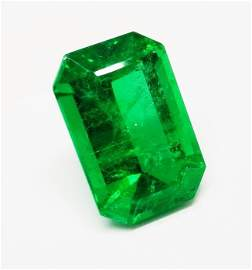 Natural Emerald Oct 12.98 cts with GRS Certificate