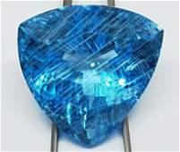 Blue Topaz Triangle - Sky blue- 1 Pc - 125.79 cts