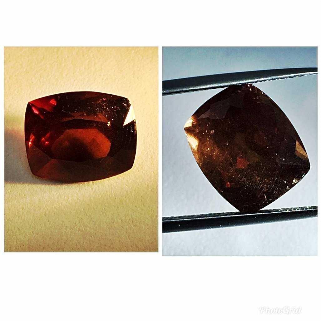 Natural Garnet Brown -Color Change (7.81 ct )