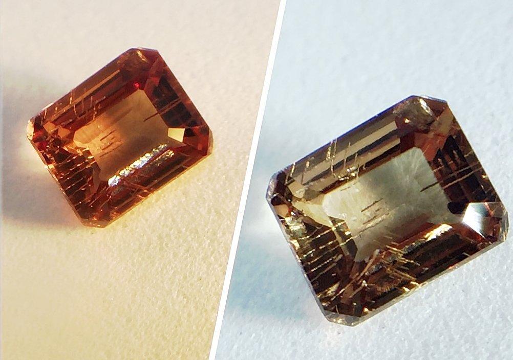 Natural Garnet - Color Change - 0.57 ct
