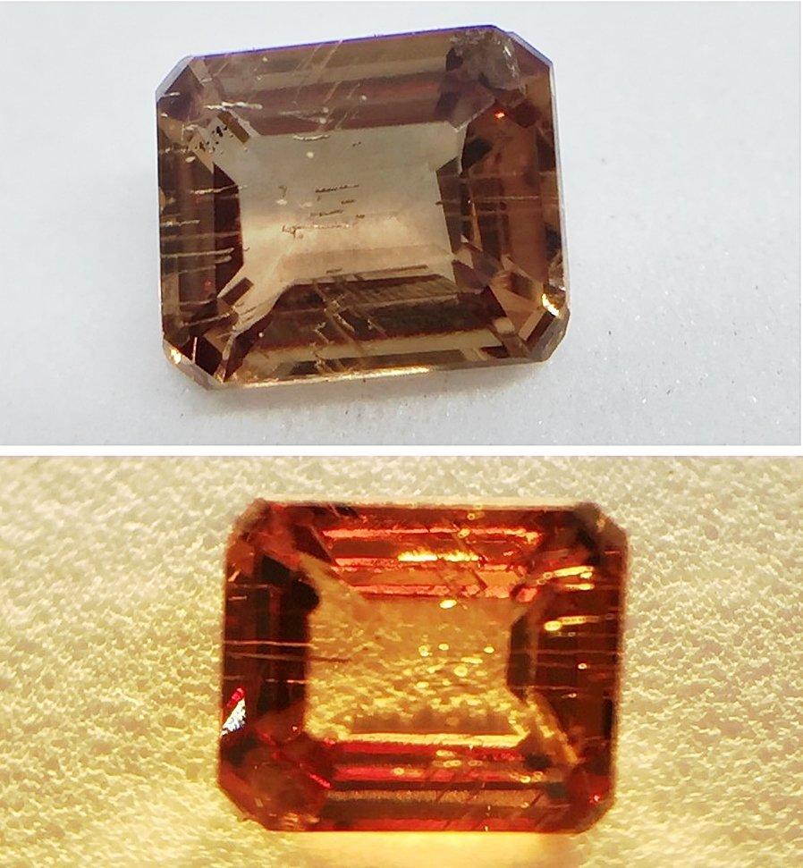 Natural Garnet - Color Change - 0.57 ct - 2