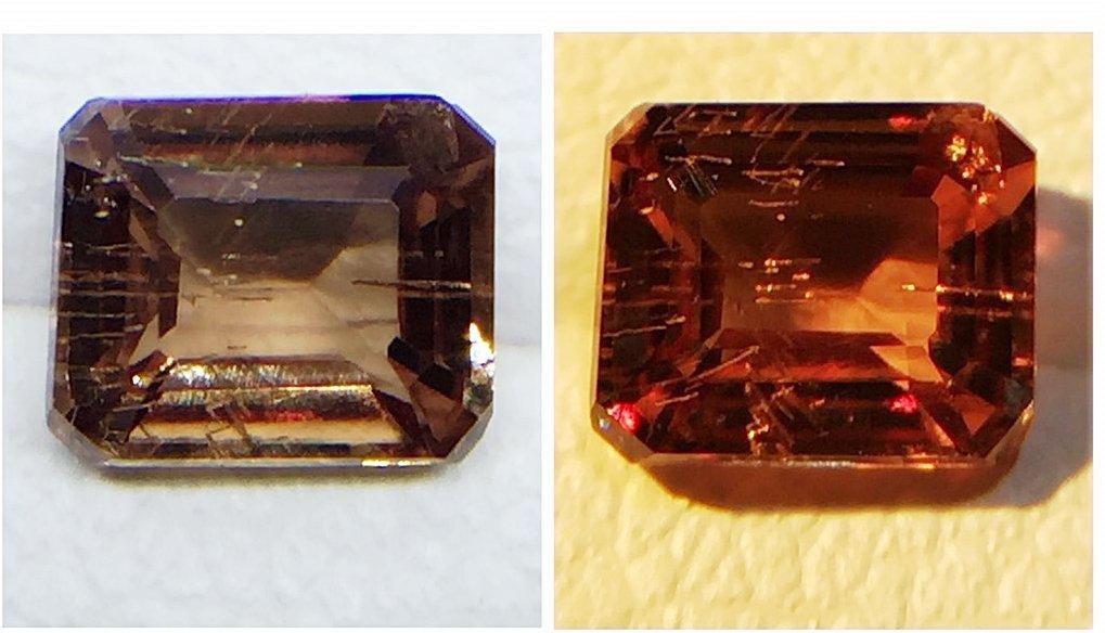 Natural Garnet - Color Change - 0.57 ct - 3