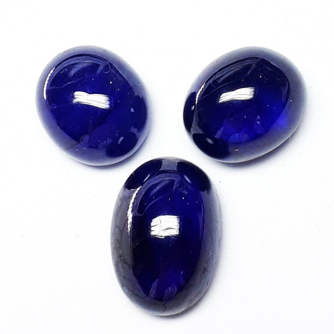 Natural Cabochon Blue Sapphire - 37.25 ct.