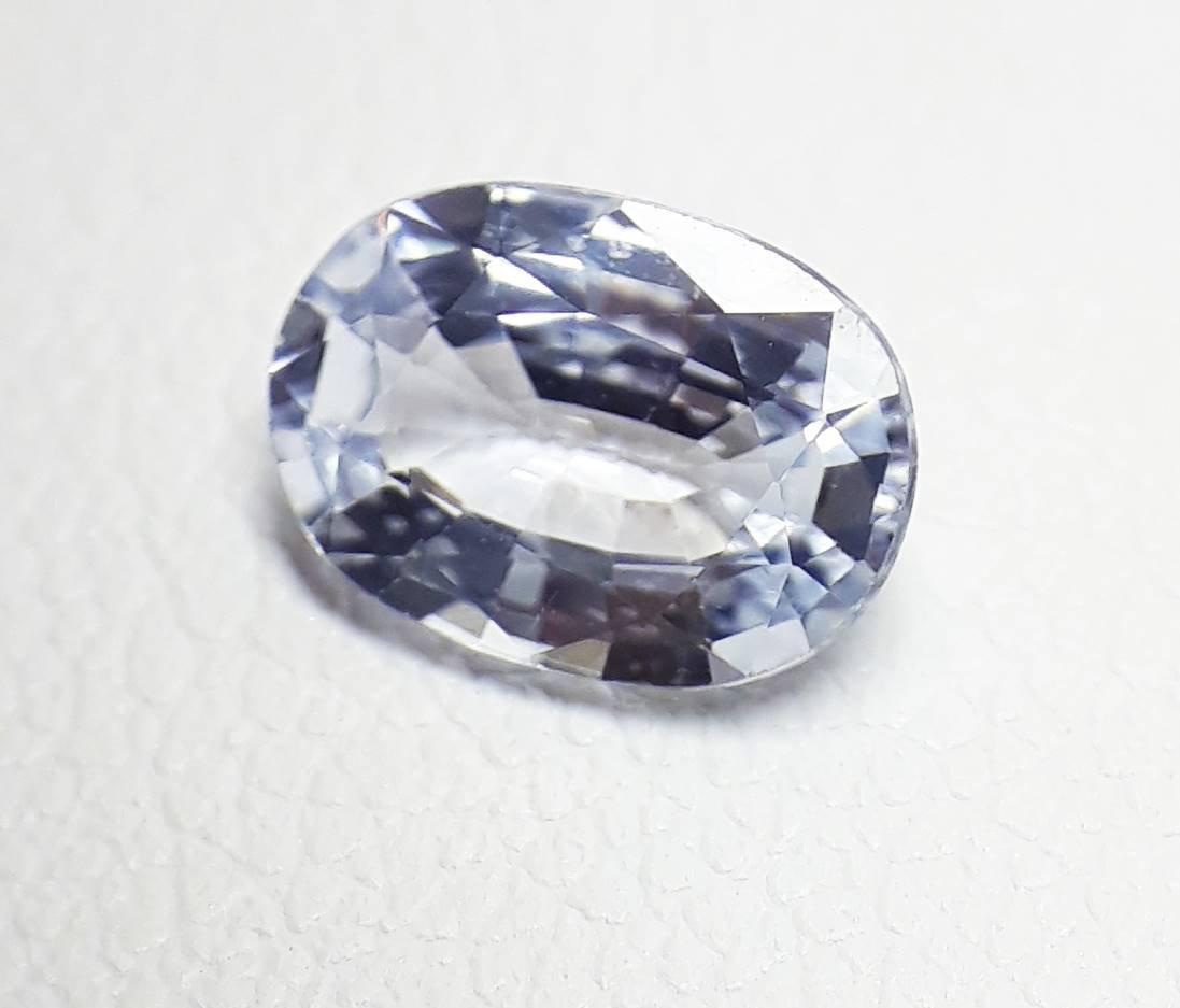 Natural Light-Blue Sapphire - 0.97 ct. - 2