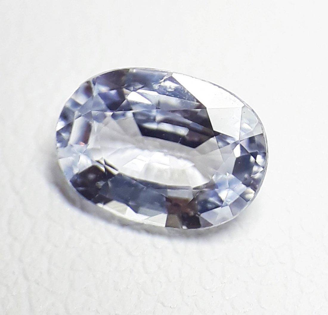 Natural Light-Blue Sapphire - 0.97 ct. - 3
