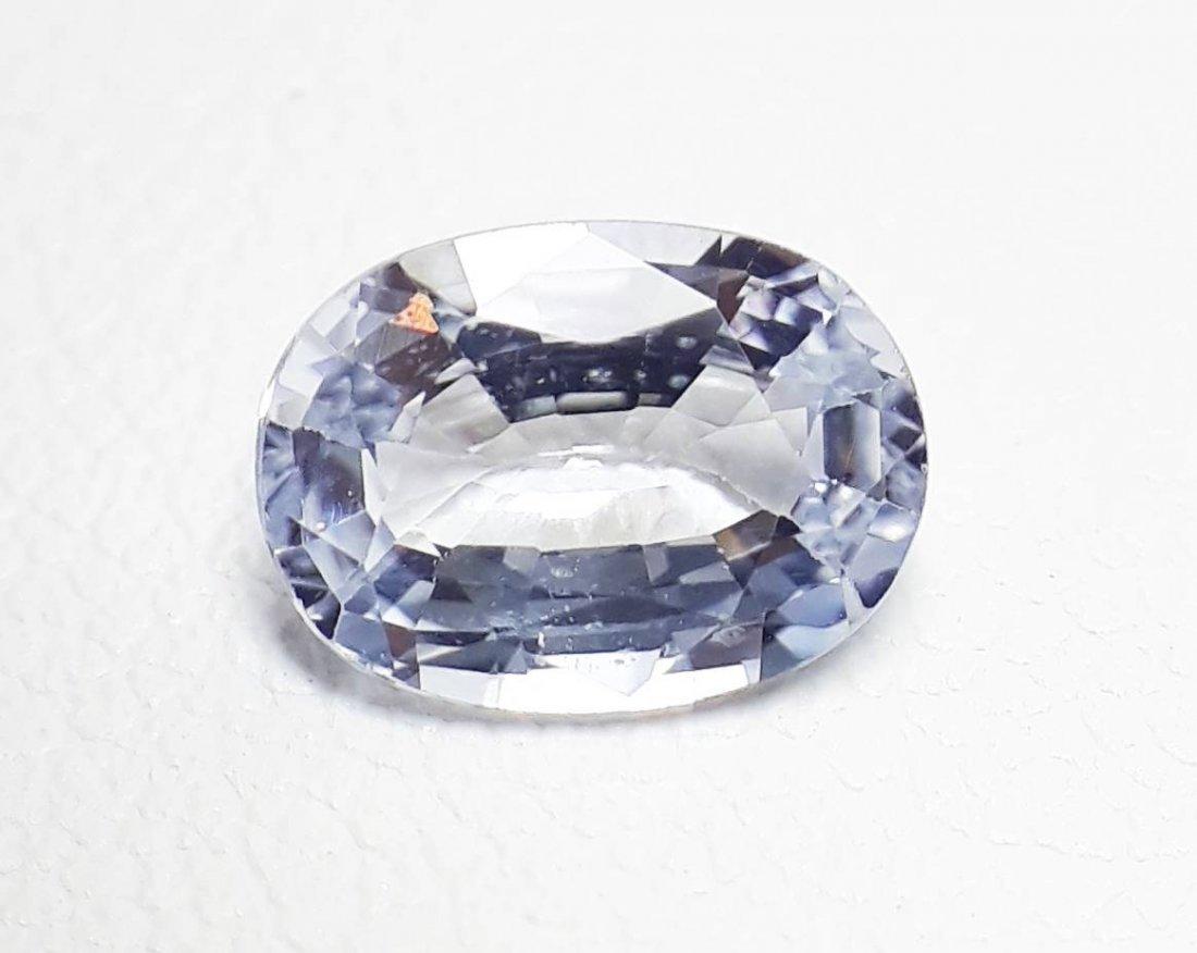 Natural Light-Blue Sapphire - 0.97 ct. - 4