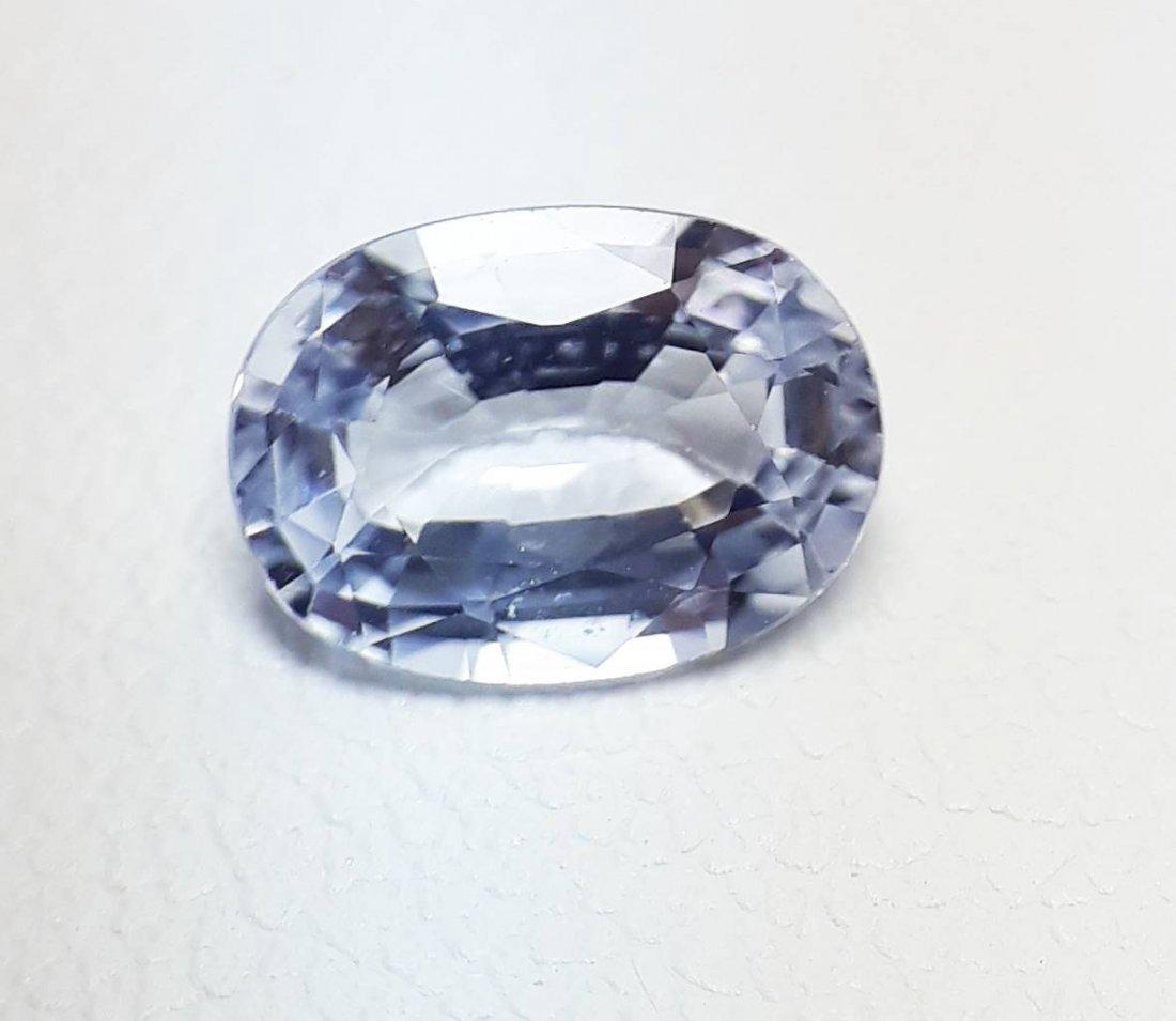 Natural Light-Blue Sapphire - 0.97 ct. - 5