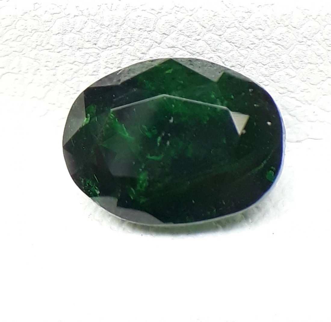Natural Tsavorite Green Garnet - 1.41 ct.