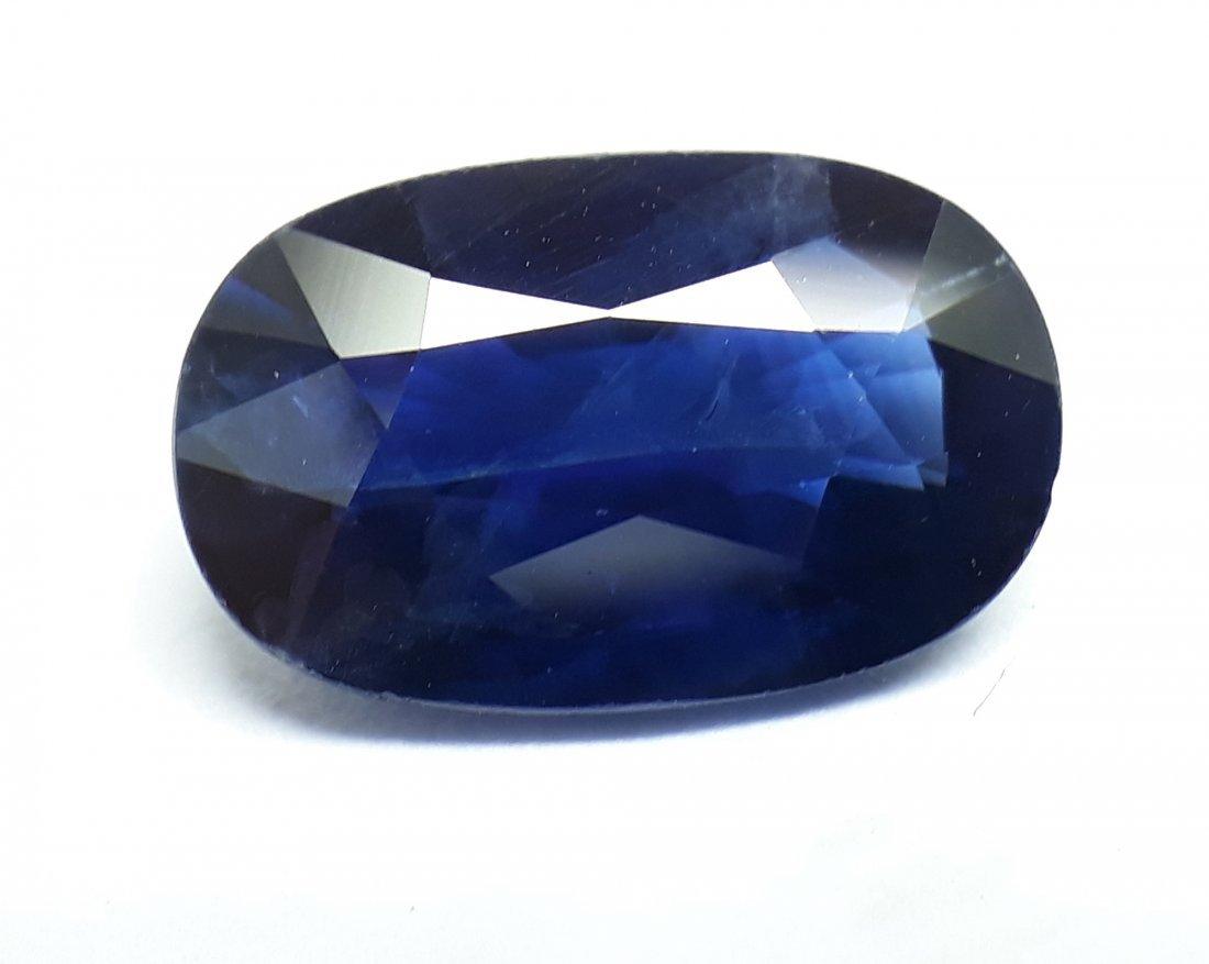 Natural Blue Sapphire - 2.19 ct.